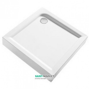 Душевой поддон акриловый квадратный Kolo FIRST 90х90х16.5 белый XBK1690000