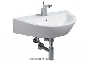 Раковина для ванной подвесная Keramag коллекция Flow белая 250965