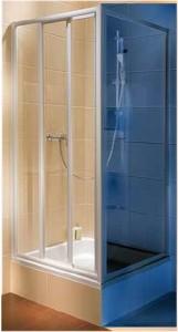 Душевая дверь в нишу Kolo ATOL PLUS стеклянная раздвижная 90х185 EDRS90202000