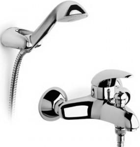 Смеситель однорычажный для ванны с душем Roca коллекция Victoria хром 5A0148C00