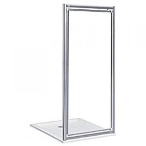 Душевая дверь в нишу Kolo AKORD pivot стеклянная распашная 80х185 RDRP80222005