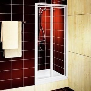 Душевая дверь в нишу Kolo AKORD стеклянная распашная 80х185 RDRF80202000