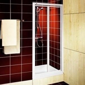 Душевая дверь в нишу Kolo AKORD стеклянная распашная 90х185 RDRF90202000