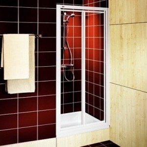 Душевая дверь в нишу Kolo AKORD стеклянная распашная 80х185 RDRF80222000