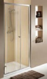 Душевая дверь в нишу Kolo FIRST стеклянная раздвижная 120х190 ZDDS12222003