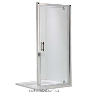 Душевая дверь в нишу Kolo GEO 6 Pivot стеклянная распашная 90х190 GDRP90205003