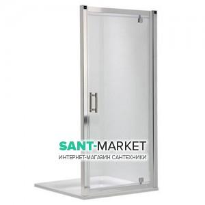 Душевая дверь в нишу Kolo GEO 6 Pivot стеклянная распашная 80х190 GDRP80205003