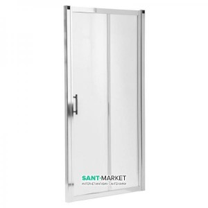 Душевая дверь в нишу Kolo GEO 6 стеклянная раздвижная 120х190 GDRS12222003