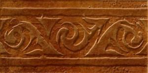 Zeus Ceramica Плитка Cotto Classico LHX22 FASCIA ROSSO фриз