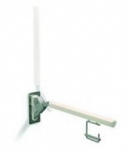 Kolo LEHNEN EVOLUTION поручень откидной с держателем для туалетной бумаги 850 мм L30413001