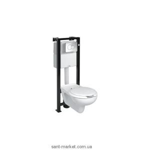 Унитаз подвесной Kolo коллекция Nova Top 63500 + Инсталляция 99179000 для инвалидов