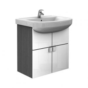 Раковина для ванной на тумбу + тумба KOLO коллекция Primo белая K89038000