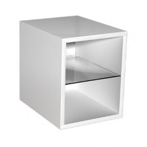 Kolo DOMINO корпус к шкафчику универ-му с дверцей, правому, левому 30x 37x42 см, бел.гл. 89253000