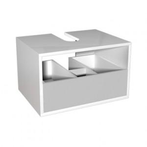 Kolo DOMINO корпус к шкафчику универ-му с выдв. ящиком 60 x 37 x 48,5 см, белый глянец 89330000