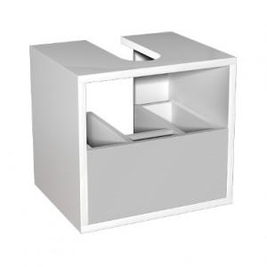 Kolo DOMINO корпус к шкафчику универ-му с выдвижным ящиком 40 x 37 x 37 см, белый глянец 89327000