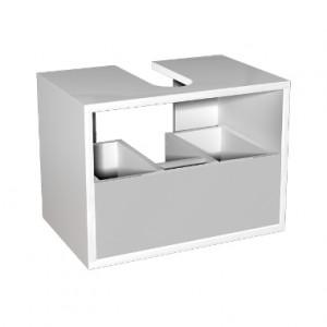 Kolo DOMINO корпус к шкафчику универсальному с выдвижным ящиком 50x37x37 см, белый глянец 89328000