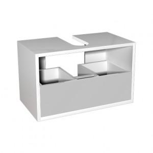 Kolo DOMINO корпус к шкафчику универсальному с выдвижным ящиком 60x37x37 см, бел. гл. 89329000