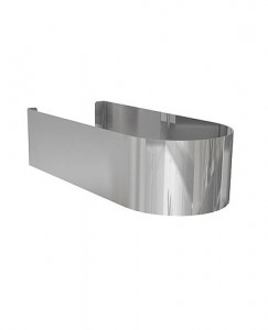 Kolo DOMINO декоративный стальной кожух 11,5 x 7 x 25,5 см 99129000