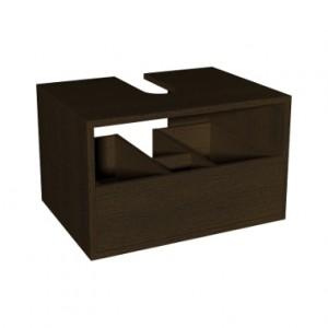 Kolo DOMINO корпус к шкафчику универсальному с выдвижным ящиком 60 x 37 x 48,5 см, венге 89334000