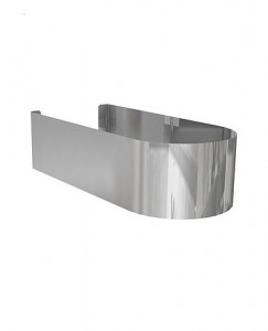 Kolo DOMINO декоративный стальной кожух 11,5 x 7 x 27,5 см 99130000