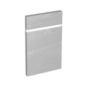 Kolo DOMINO фасад нижний к шкаф-ку бок-му, с корзиной для белья 37x160x34 см, бел. глян. 88350000