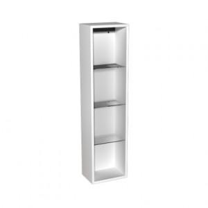 Kolo DOMINO корпус к шкафчику боковому, верхнему, правому, левому 30x120x25 см, бел. гл. 88342000