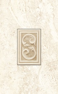 Dvarcioniu Travertino INS 101 декор Плитка настенная 146033