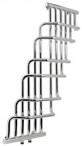Водяной полотенцесушитель Laris коллекция Ниагара П дизайнерский 795х1230х127 хром 71207144