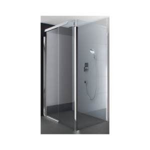 Kolo S600 боковая стенка 100 см, закаленное стекло, серебряный матовый JSKX10222001