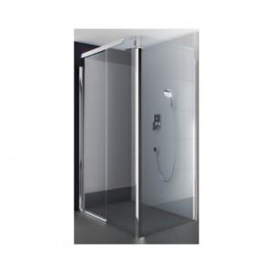 Kolo S600 боковая стенка 80 см, закаленное стекло, серебряный блеск JSKX80222003