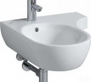 Раковина для ванной подвесная Keramag коллекция 4U белая 123450