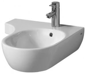 Раковина для ванной подвесная Keramag коллекция 4U белая 123455
