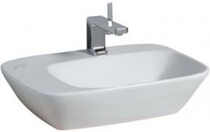 Раковина для ванной подвесная Keramag коллекция Silk белая 121650