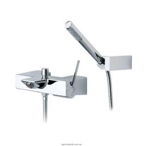 Смеситель с джойстиком для ванны с душем Roca коллекция Touch хром 5A0147C00