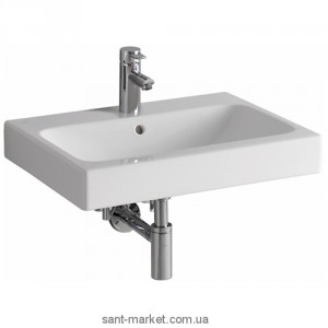 Раковина для ванной подвесная Keramag коллекция iCon белая 124060