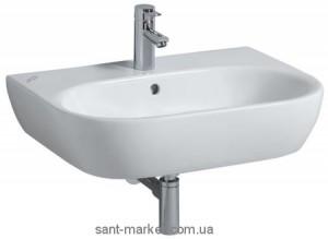 Раковина для ванной подвесная Keramag коллекция 4U белая 123470
