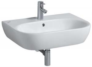 Раковина для ванной подвесная Keramag коллекция 4U белая 223470