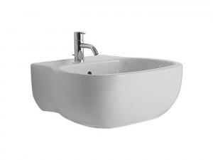 Раковина для ванной подвесная Keramag коллекция 500 by Antonio Citterio белая 223152