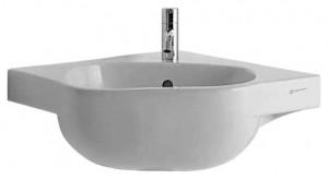 Раковина для ванной подвесная Keramag коллекция 500 by Antonio Citterio белая 223149