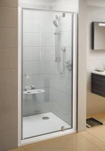 Душевая дверь в нишу Ravak Pivot PDOP1 стеклянная распашная 80х190 03G40U00Z1