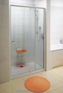 Душевая дверь в нишу Ravak Pivot PDOP2 стеклянная распашная 100х190 03GA0U00Z1