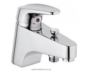 Смеситель для ванны однорычажный с коротким изливом Kludi коллекция Objekta хром 326850575