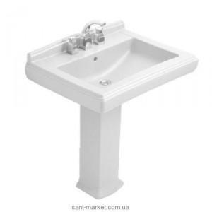 Раковина для ванной на пьедестал Villeroy & Boch коллекция Hommage белая 7101A2R1
