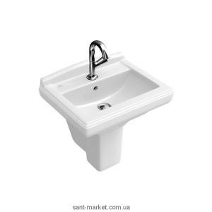 Раковина для ванной подвесная Villeroy & Boch коллекция Hommage белая 730150R2