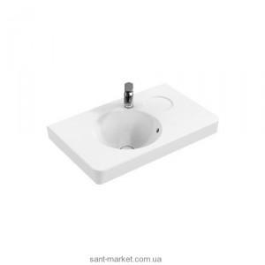 Раковина для ванной подвесная умывальник-столешница Villeroy & Boch коллекция Joyce белая 41078001