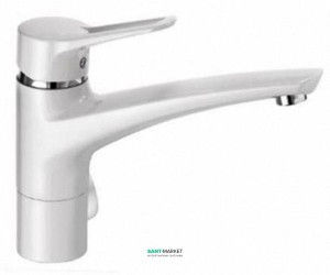 Смеситель для кухни Kludi MX однорычажный белый 399069262