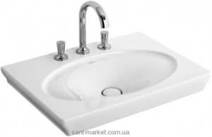 Раковина для ванной на тумбу Villeroy & Boch коллекция La Belle белая 6126G2R1