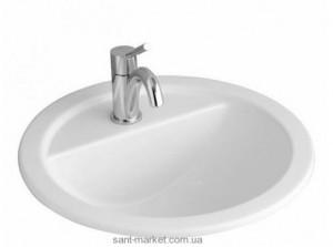 Раковина для ванной встраиваемая Villeroy & Boch коллекция Loop & Friends белая 51405001