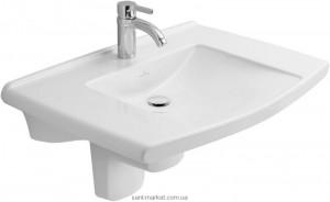 Раковина для ванной подвесная Villeroy & Boch коллекция Lifetime белая 51746001