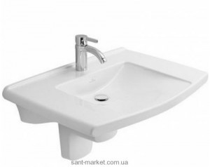 Раковина для ванной подвесная Villeroy & Boch коллекция Lifetime белая 51748101